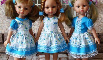 Кукольное платье